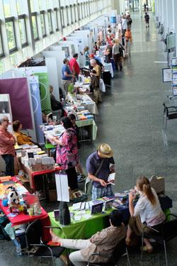 Mainzer Minipressenmesse für Kleinverleger und Selfpublisher. © massow-pictures