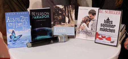 Erster Storyteller – Deutscher Self Publisher Award wurde auf der Buchmesse verliehen. © massow-pictures